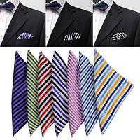 Нашивка шелк мужской костюм платок weave жаккарда платок шелковый шарф