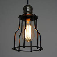Винтаж железной клетке люстра ретро Эдисон светильник подвеска Лампа 85-265в переменного тока