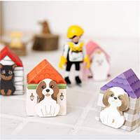 Прекрасный щенок дома закладка стикер памятка Марк вкладка заметки