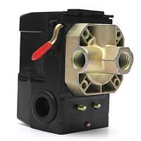 Воздушный компрессор давления переключатель управления клапан 4 порта 90-120 psi 26 ампер 240В