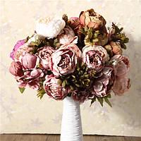 Искусственные пион телеканалов шелковые цветы дома номер партии Свадебные украшения сада