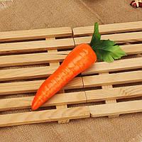 5pcs поддельные фрукты красного искусственного морковь кухонный шкаф декор обучения фотографии реквизит