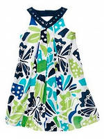 Платье-сарафан Gymboree Восточный для девочек синий 4 года (104-110 см)