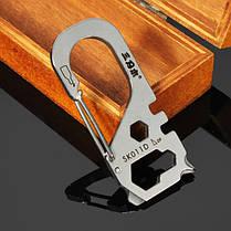 Sanrenmu sk011d+sk012d+sk015d портативная edc много цепочка для ключей набора инструментов, фото 3