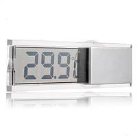 LCD Цифровой Авто Вихревой экран Зеркало заднего вида Термометр Прибор для измерения температуры Sucker