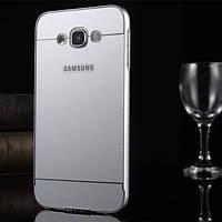 Алюминиевый бампер рамка+PC задняя крышка крышка для Samsung галактики е7