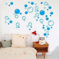 Сменные пузыри сделай сам художественные стенные стенные этикетки ванной внутреннего декора переводной картинки помещения