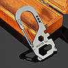 Sanrenmu SK011D Mini Multi Набор Набор Ногти Пуллер Гаечный ключ Открыватель Брелок