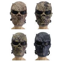 Airsoft пейнтбол анфас череп маски защиты открытый тактическое снаряжение