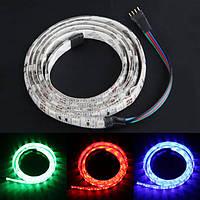 Гибкий 60 RGB LED свет прокладки 5050 SMD автомобиль авто свет украшения