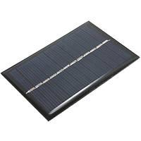 6V 100mA 0.6W поликристаллического мини эпоксидной панели солнечных фотоэлектрические панели