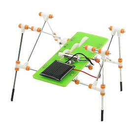 DIY Развивающая игрушка на солнечной батареи робот