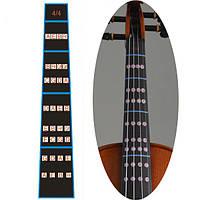 1шт скрипки масштаба наклейки дрочит диаграммы для 4/4 3/4 1/2 1/4 1/8 1/10 скрипка