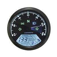 12000rmp ЖК-цифровой спидометр одометр мотоцикла 1-4 цилиндры
