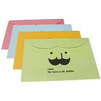 Усы шаблон А4 бумажный конверт документ файлов мешки бумажные папки