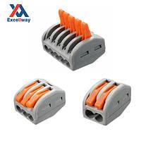 Excellway® ET25 2/3/5 штыри 32A Спринг терминальный блок Электрический кабель провод Разъем