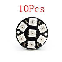 10pcs cjmcu 7-битный совет ws2812 5050 rgb LED развития водителей - 1TopShop