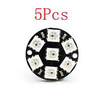 5pcs cjmcu 7-битный совет ws2812 5050 rgb LED развития водителей - 1TopShop
