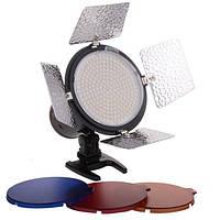 Вспышка yongnuo yn216 13 Вт 5500к ЦНИИ 90 LED лампы видео для Canon DSLR камеры
