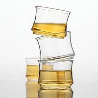 70гр питьевой бамбука совместных жаростойкий прозрачное стекло чай Кубок