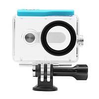 Оригинальный водонепроницаемый кейс 40M для Xiaomi Yi Спорт экшен камеры новую версию Зеленый