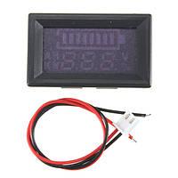 12v свинцово-кислотных батарей LED емкость индикатор батареи цифровой тестер вольтметр