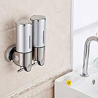 Настенный ручной дозатор мыла в ванной жидкое мыло коробки