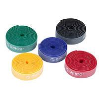 1шт пакет Orico CBT-1с многоразовые радуга Кабельные стяжки / проволочными стяжками, чтобы организовать шнуры цвета радуги