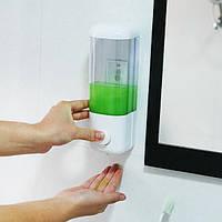 500мл стороны давление настенный шампунь мыла с присоской