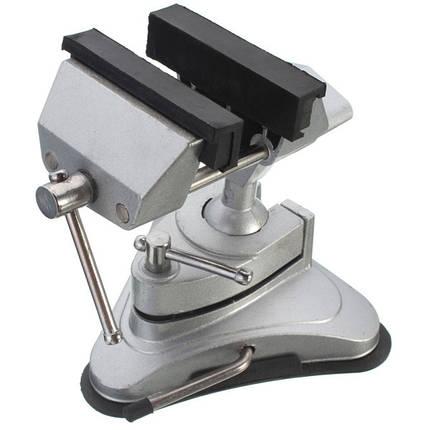 Профессиональные стационарные инструменты ремонта алюминиевого сплава мини тиски Тиски зажим резьбы зажимного инструмента, фото 2