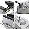 Профессиональные стационарные инструменты ремонта алюминиевого сплава мини тиски Тиски зажим резьбы зажимного инструмента, фото 3
