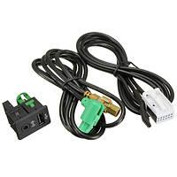USB-кабель переключатель AUX аудио разъем для VW Tiguan Volkswagen Touran rcd510 rcd300