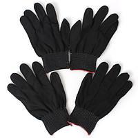 2 пары Анти Статические Nylon Рабочая перчатка для прочного вязания Рабочая безопасность Перчатки