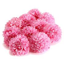 10шт искусственные ромашки мама цветок шелка сферические головки основная домой свадьбу декора, фото 2