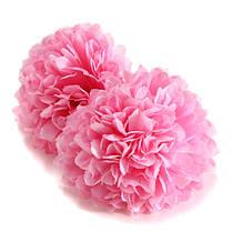10шт искусственные ромашки мама цветок шелка сферические головки основная домой свадьбу декора, фото 3