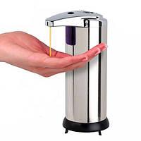 Нержавеющая инфракрасный автоматический датчик мыла дезинфицирующее средство для рук распределитель