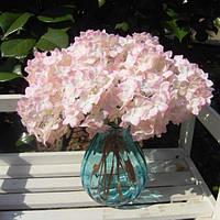 Искусственный цветок Гортензия Шелковый букет невесты партии Главная Свадебные Декор 5Colors