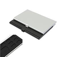 9 слотов 8 х 1 х TF SD Шкафы металлические для хранения карты памяти держатель коробка Protector TF / SD микро