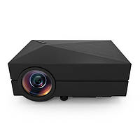 GM60 Портативный мини домашний кинотеатр 800x480 LED LCD проектор 1080P HD