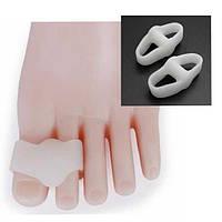 Силиконовые ног VALGUS сепараторы 2 отверстия выпрямители косточки облегчение здравоохранения