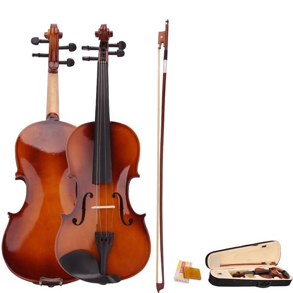 4/4 акустическая скрипка с футляром смычок канифоль для скрипки начинающих - ➊TopShop ➠ Товары из Китая с бесплатной доставкой в Украину! в Днепре
