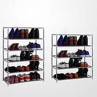 Мульти ярусов хранения обуви Полка для поделок металлические организатор держатель стойки бытовые стенды