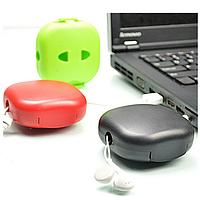 Круговой провод твистер моталки держатель кабеля сумка для кабеля случайной