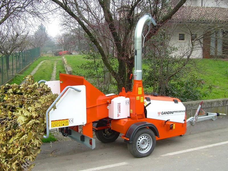 Измельчитель древесины Gandini Chipper Line 200