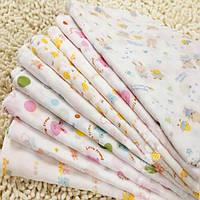 5 штук новорожденного младенца хлопка нагрудники кормления кормящих марлевую шарф слюны полотенце