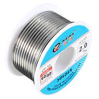 2.0 мм олова свинец припой проволоки канифоль ядро пайки 2% трубку барабана поток 60/40