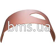 Захисний лист (для пневмонагнітача Putzmeister, лист з отвором) 1шт, 6мм Hardox, фото 1