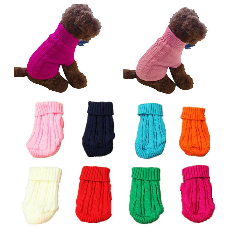 Собака кошка одежды зима твердое теплый свитер трикотажные щенка одежду - ➊TopShop ➠ Товары из Китая с бесплатной доставкой в Украину! в Днепре