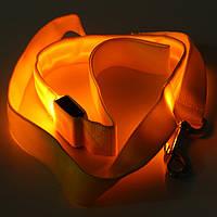 LED Мигает поводок собаки ночью безопасности дрессировки веревку тяги