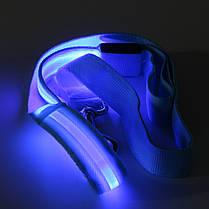 LED Мигает поводок собаки ночью безопасности дрессировки веревку тяги, фото 2